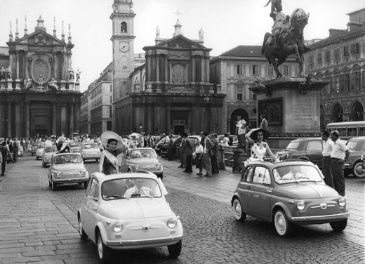 Fiat nuova 500 history