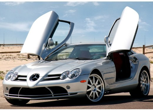 Ultimissime: Mercedes McLaren SLR 722 by RENNtech