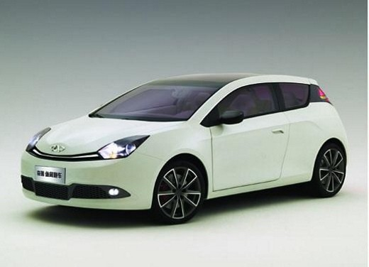 Ultimissime: Chery Shooting Sport Concept - Foto 1 di 8