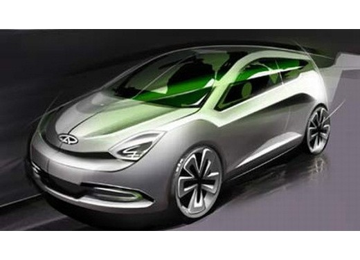 Ultimissime: Chery Shooting Sport Concept - Foto 6 di 8