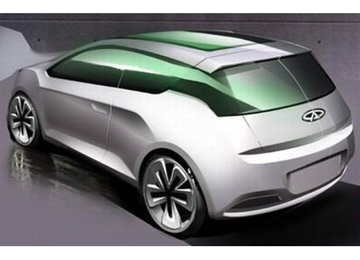 Ultimissime: Chery Shooting Sport Concept - Foto 7 di 8
