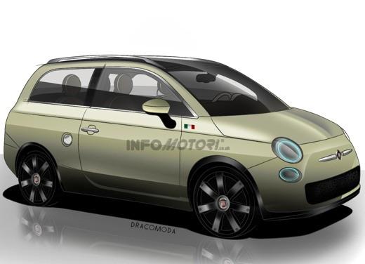 Fiat 500 Giardiniera / Giardinetta (SW) - Foto 12 di 13