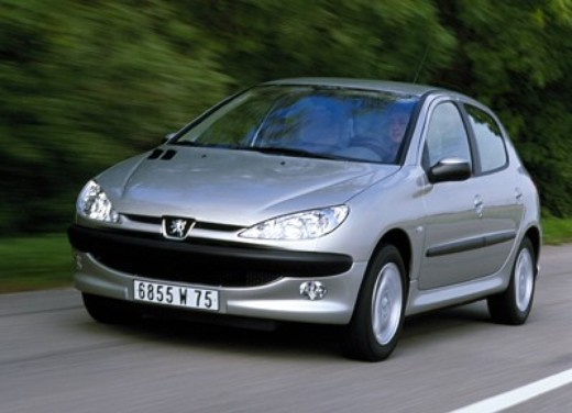 peugeot 206 1 4 1 6 aut test drive infomotori. Black Bedroom Furniture Sets. Home Design Ideas