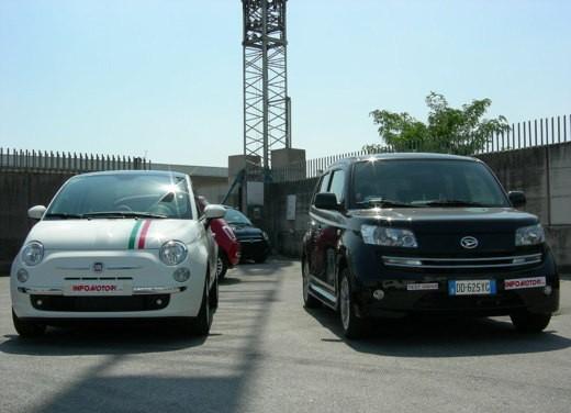 Fiat nuova 500 Vs Daihatsu Materia - Foto 3 di 31