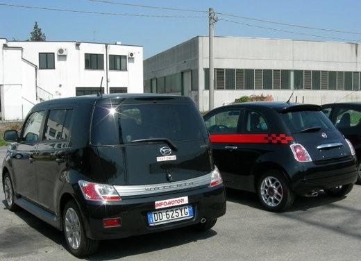 Fiat nuova 500 Vs Daihatsu Materia - Foto 4 di 31