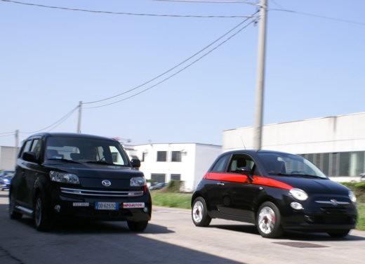 Fiat nuova 500 Vs Daihatsu Materia - Foto 6 di 31