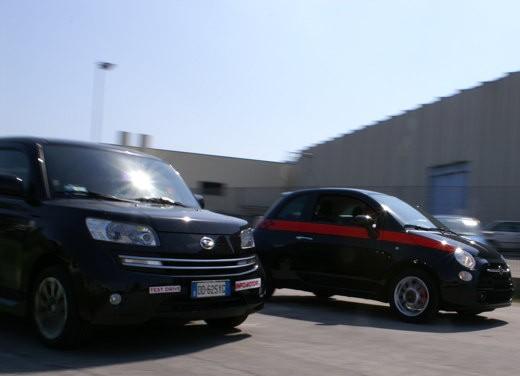 Fiat nuova 500 Vs Daihatsu Materia - Foto 7 di 31