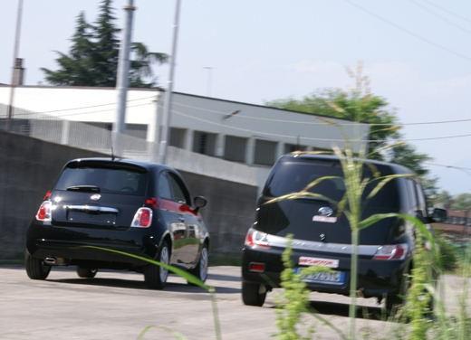 Fiat nuova 500 Vs Daihatsu Materia - Foto 8 di 31