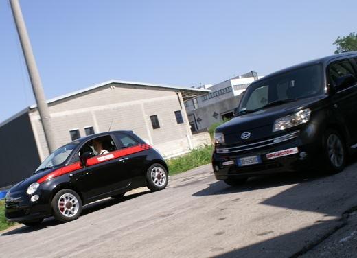 Fiat nuova 500 Vs Daihatsu Materia - Foto 12 di 31