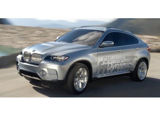BMW Concept X6 ActiveHybrid - Foto 1 di 6