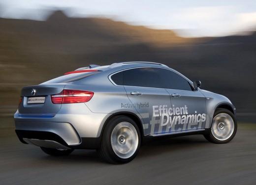 BMW Concept X6 ActiveHybrid - Foto 2 di 6