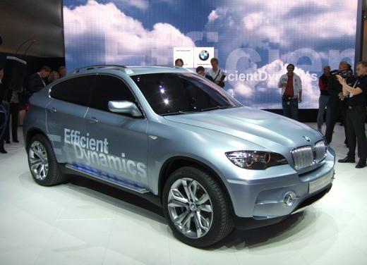 BMW Concept X6 ActiveHybrid - Foto 3 di 6