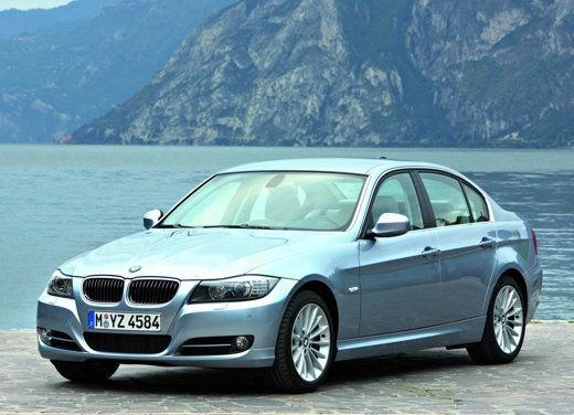 BMW Serie 3 prime foto ufficiali delll'ultimo lifting