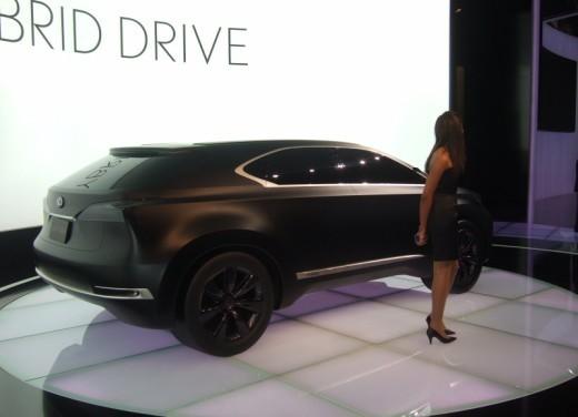 Lexus LF-Xh hybrid Concept - Foto 2 di 10