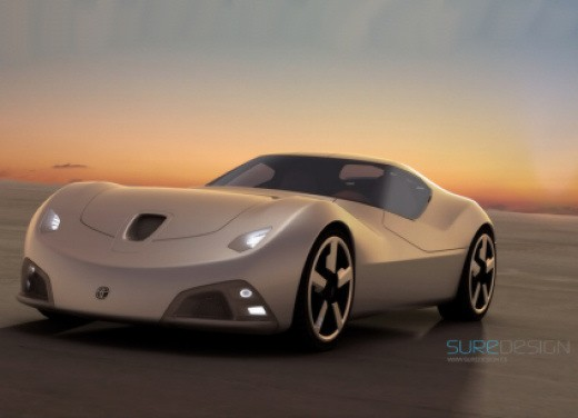 Ultimissime: Toyota 2000 SR Concept by SURE Design - Foto 1 di 7