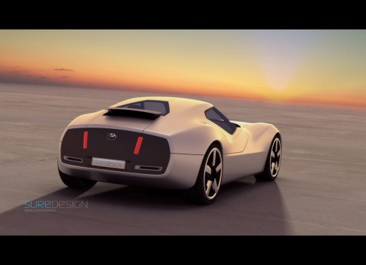 Ultimissime: Toyota 2000 SR Concept by SURE Design - Foto 3 di 7