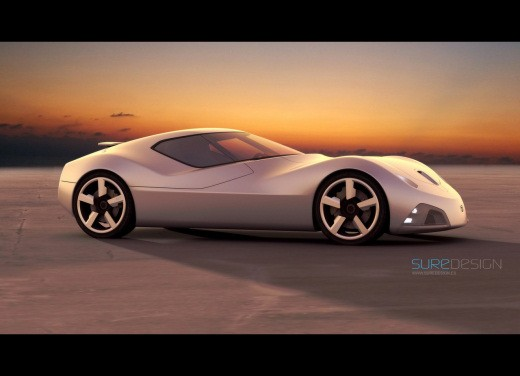 Ultimissime: Toyota 2000 SR Concept by SURE Design - Foto 4 di 7