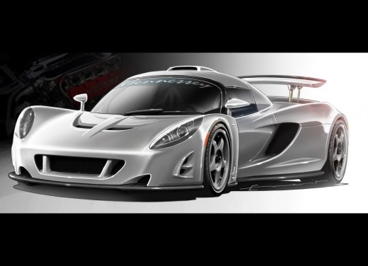 Ultimissime: Venom GT Concept by Hennessey - Foto 1 di 2