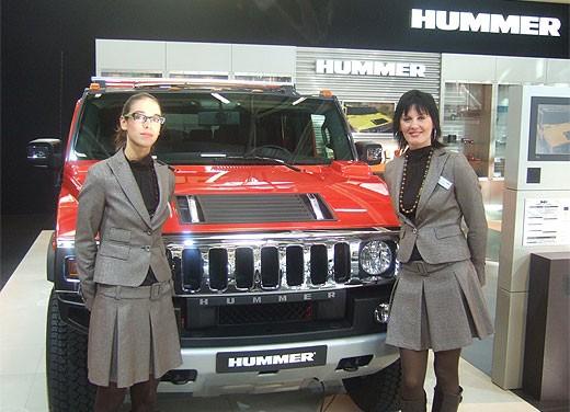 Hummer al Motor Show di Bologna 2007