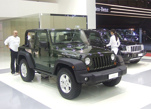 Jeep al Motor Show di Bologna 2007 - Foto 8 di 11