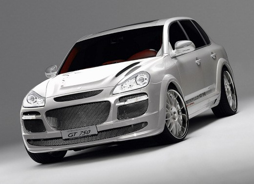 Ultimissime: Porsche Cayenne Turbo by Gemballa