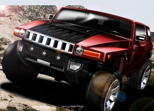 Hummer HX Concept - Foto 7 di 10