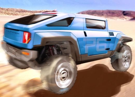 Hummer HX Concept - Foto 9 di 10