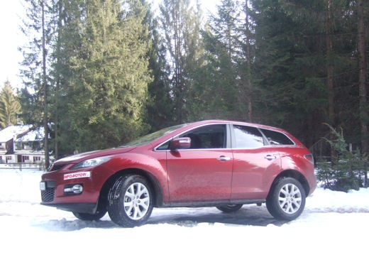 Mazda CX7 – Long Test Drive - Foto 2 di 26