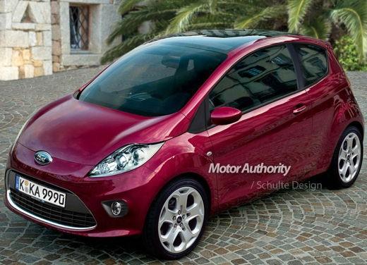 Ultimissime: Ford nuova Ka prime elaborazioni grafiche non ufficiali
