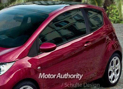Ultimissime: Ford nuova Ka prime elaborazioni grafiche non ufficiali - Foto 4 di 4