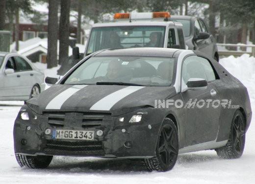 Mercedes nuova CLK – Spy - Foto 2 di 9