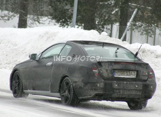 Mercedes nuova CLK – Spy - Foto 5 di 9