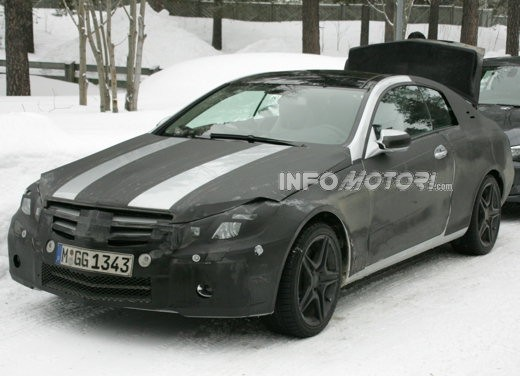 Mercedes nuova CLK – Spy - Foto 6 di 9