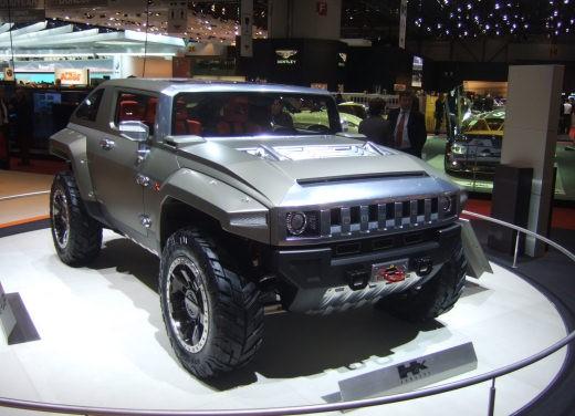 Hummer al Salone di Ginevra 2008 - Foto 8 di 11