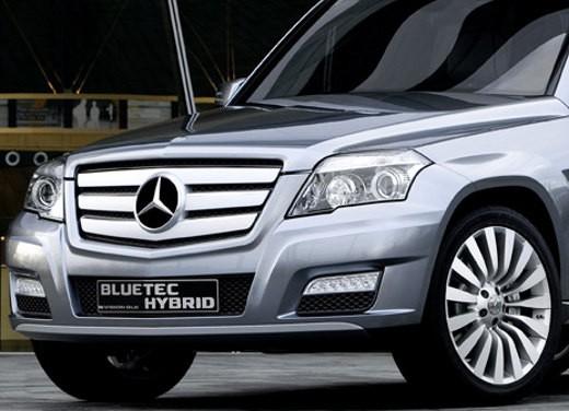 Mercedes Classe GLK Hybrid – Foto Ufficiali - Foto 7 di 8