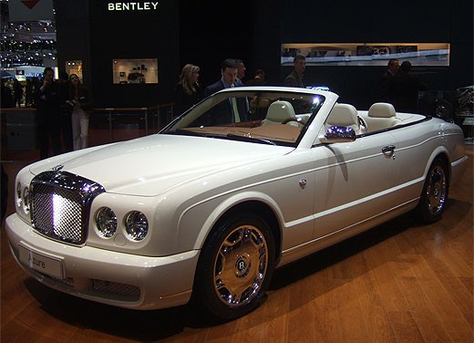 Bentley al Salone di Ginevra 2008