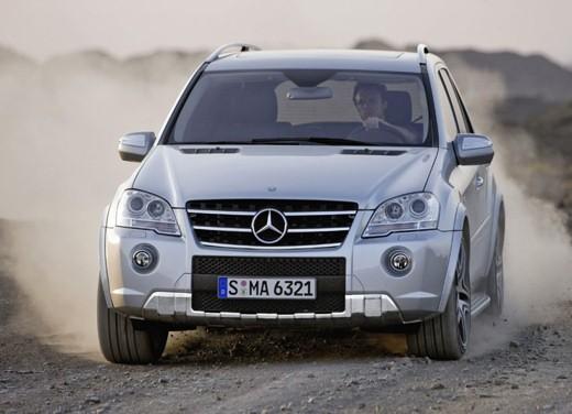 Mercedes Classe M Restyling – Foto Ufficiali - Foto 1 di 10