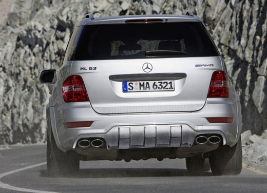 Mercedes Classe M Restyling – Foto Ufficiali - Foto 6 di 10