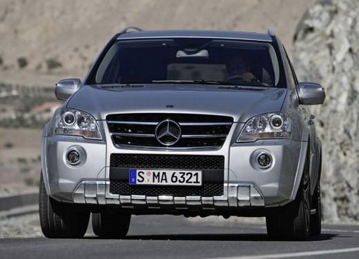 Mercedes Classe M Restyling – Foto Ufficiali - Foto 8 di 10