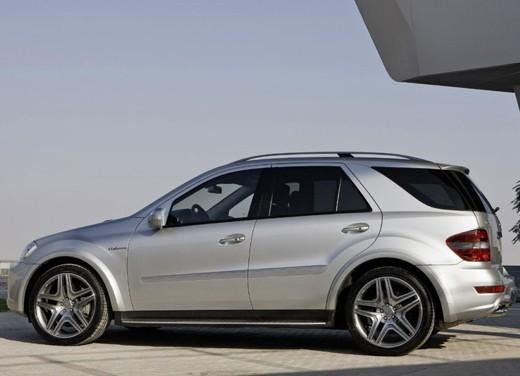 Mercedes Classe M Restyling – Foto Ufficiali - Foto 9 di 10