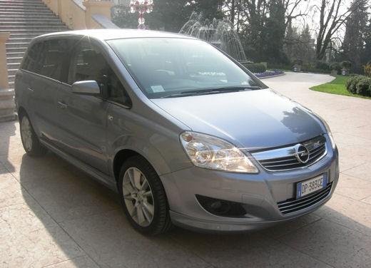 Opel Zafira facelift – test drive - Foto 3 di 26