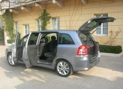 Opel Zafira facelift – test drive - Foto 7 di 26
