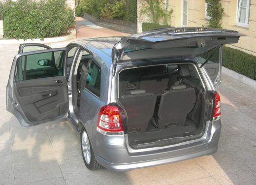 Opel Zafira facelift – test drive - Foto 8 di 26