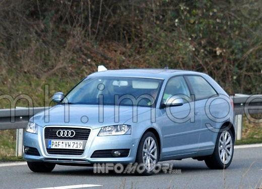 Nuova Audi A3 spiata dai nostri fotografi durante le prime prove su strada