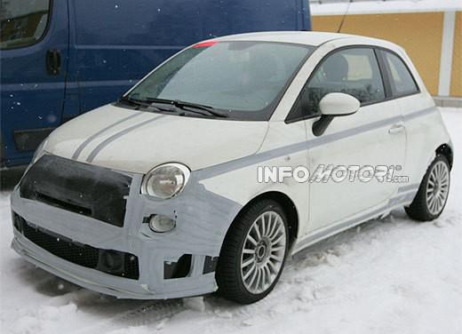 Nuova Fiat 500 Abarth – spy - Foto 15 di 40