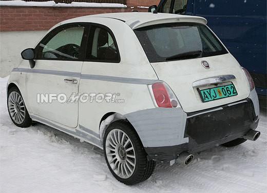 Nuova Fiat 500 Abarth – spy - Foto 18 di 40
