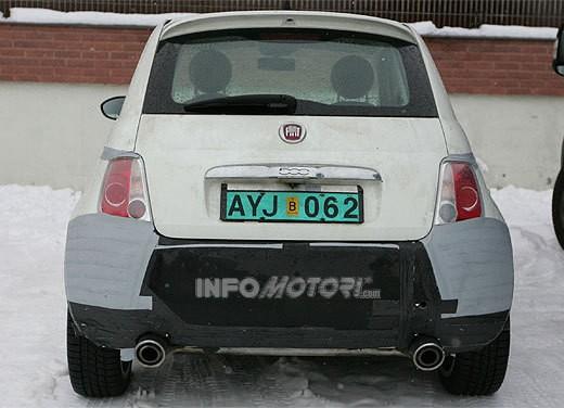 Nuova Fiat 500 Abarth – spy - Foto 19 di 40