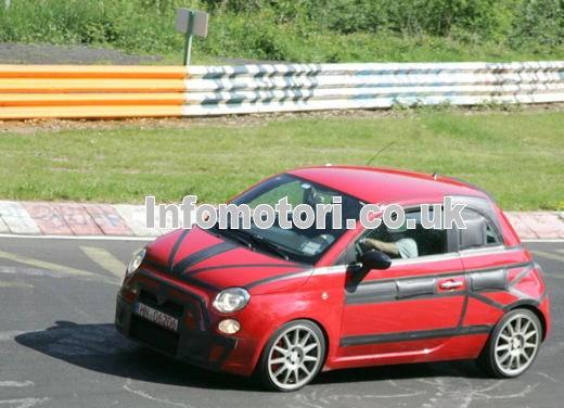Nuova Fiat 500 Abarth – spy - Foto 25 di 40