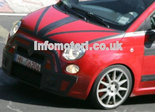 Nuova Fiat 500 Abarth – spy - Foto 27 di 40