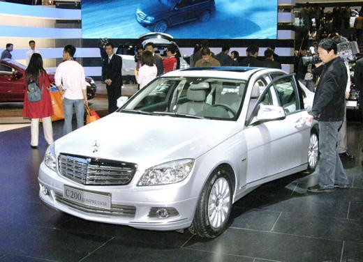 Mercedes al Salone dell'Auto di Pechino 2008 - Foto 10 di 17